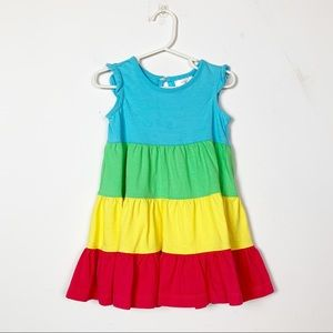 Hanna Andersson Rainbow Twirl Dress Size 2T